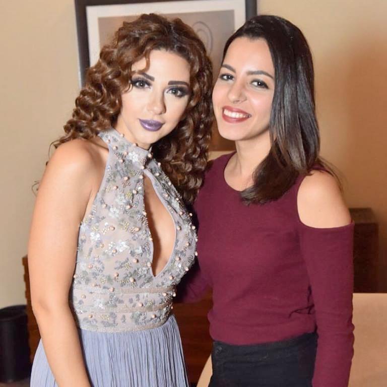 تستعد شروق أشرف منظمه الحفلات الشهيره لتنظيم حفل كبري بالقاهره